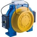 120m Lifting Height Gearless Traction Machine