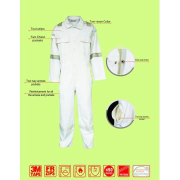 Fire Retardant White Cover All