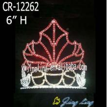 Pageant Red Maple Leaf Pageant Crowns