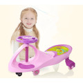 swing car with music ang lights/funny twist car with music/flashing PU wheel baby swing car