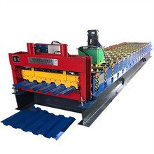 trapezoidal metal roof sheet roll forming machine