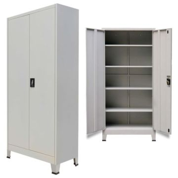 Office Filing Cabinet Steel Storage Cupboard with feet