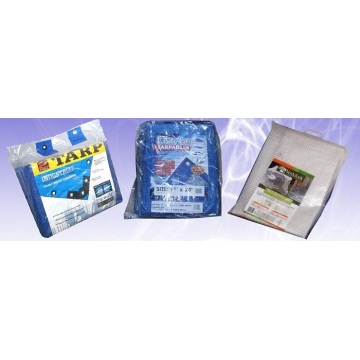Silver Fire Resistant Tarpaulin Low Price