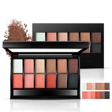 Makeup Eyeshadow Shimmer Matte 12 Color Eyeshadow Palette