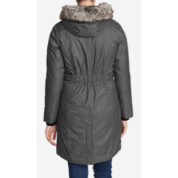 cotton padded men winter down parka jacket