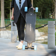 120 PU wheels electric skateboard off road