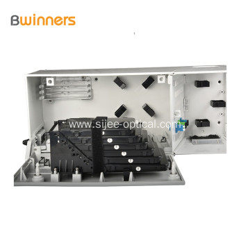 Wall Mounted Ftth Distribution Box 48 Port