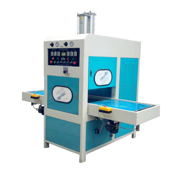 High frequency welding machine with embossing
