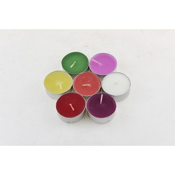 Hot Sale 14 g Colorful Tealight Candle