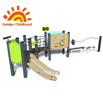 Children outdoor combination playground colorful