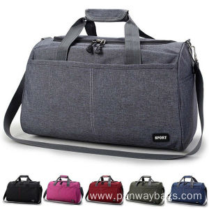 China supplier OEM for Weekend Travel Bag Men Women Nylon Travel Handbag Overnight Bag export to Sao Tome and Principe Manufacturer
