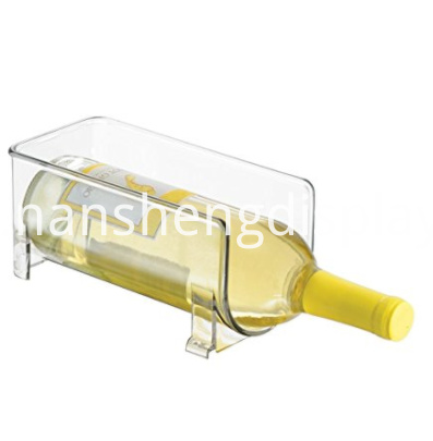 Acrylic Wine Bottle Storage Rack