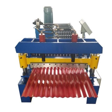 Corrugated Roof Sheet Steel Roll Forming Machine