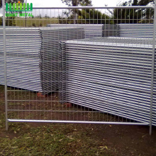 Australia Market galvanized cheap temporary fencing