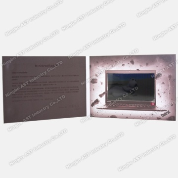 Video Advertising Card, Video Booklet, Video Promotional Brochure