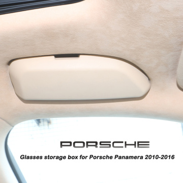Car Sunglasses Case Storage Box for Porsche Panamera