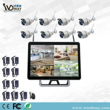 "8CH 1.3/2.0MP Wifi NVR Kits With 15"" Monitor"