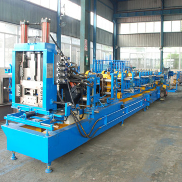 Automatic CZ Purlin Roll Forming Machine