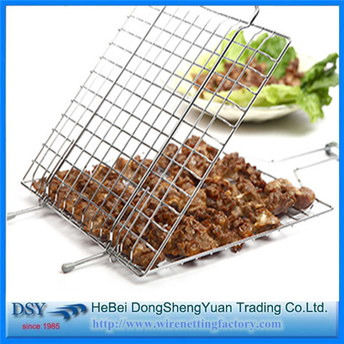 Iron BBQ Grill Expanded Metal Mesh