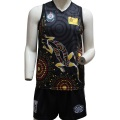 Sublimated Team Team Basketers Ҷерсӣ