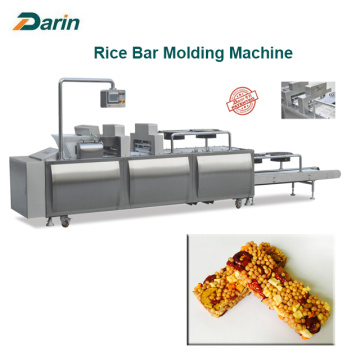 Puffed Rice Snacks Bar Molding Machine