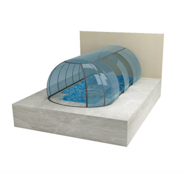 Tent for Swimming Retractable Outdoor Pool Dome