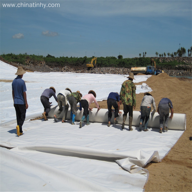 600g Compound Geomembrane/Geotextile  in Good High Quality