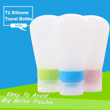 3 oz Leak Proof Silicone Travel Bottles