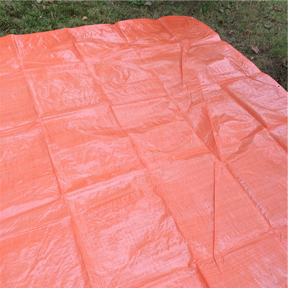Customized Roofing Cover Orange Tarpaulin