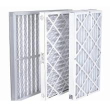 Synthetic Wire Mesh Backed Laminated Filter Media