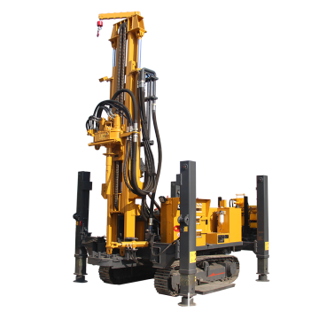 300m Best Quality Hard Rock Water Well Drilling Rigs