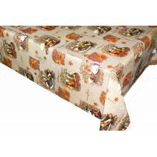 Elegant Tablecloth with Non woven backing Outdoors