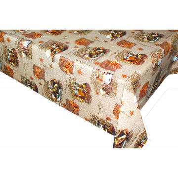 Pvc Printed fitted table covers L'nique Table Linens