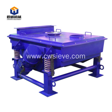 linear vibrating sieve separating machine for grain
