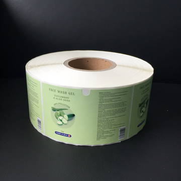 Flexo Printing Environmental Adhesive Sticker for Wet Tissue