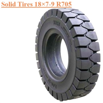 Industrial Forklift Field Vehicles Solid Tire 18×7-9 R705