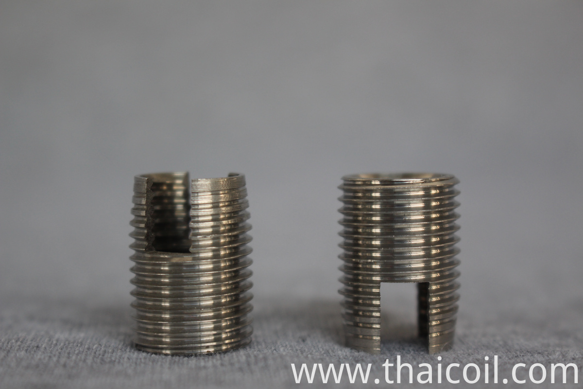 Steel thread insert