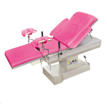 Electric gynecology operating table