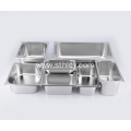 Stainless Steel Square Ice Cream Basin