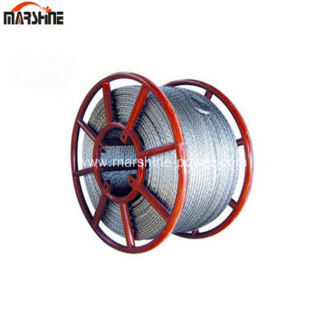 Galvanized Steel Anti Twist Wire Rope
