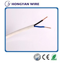 copper flexible cable 2 cores 0.75mm electrical wires