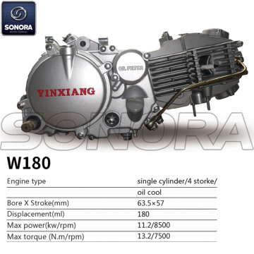 Yinxiang Engine W180 BODY KIT ENGINE PARTS COMPLETE SPARE PARTS ORIGINAL SPARE PARTS