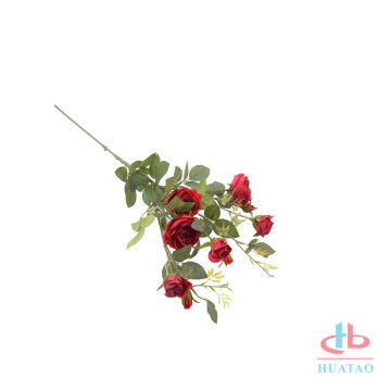 Artificial flower simulation rose for home decooration