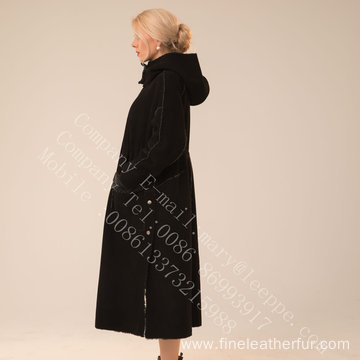 Long Fur Coat Womens