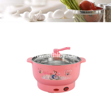 Mini Stainless Steel Cookware Electric Hot Pot
