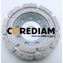 Double-row Diamond Concrete Cup Wheel