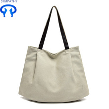 High Efficiency Factory for Large Cotton Tote Bag Simple art tote bag leisure bag supply to Niue Manufacturer