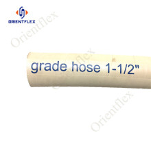 blue food grade rubber suction hose 10 bar