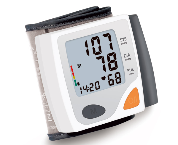 Arm good White high quality blood pressure monitor