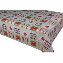 Elegant Tablecloth with Non woven backing Kitchen